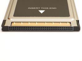 Como poner una tarjeta PCMCIA en una ranura de tarjeta Express