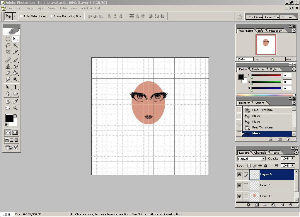 Cómo crear un Avatar de Anime - Ubiquitour.com